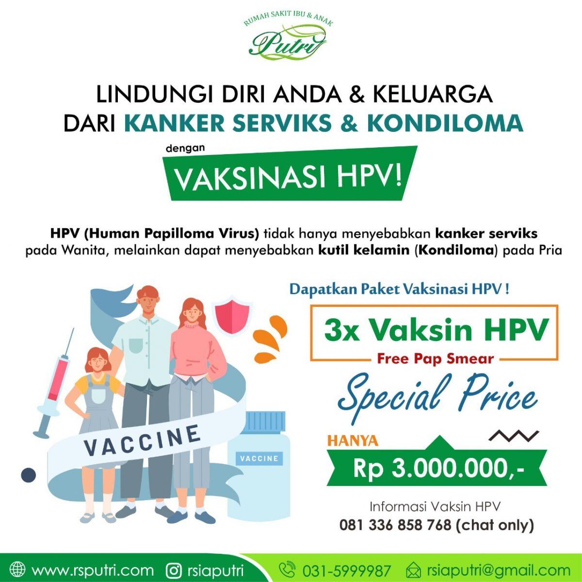 VAKSINASI HPV